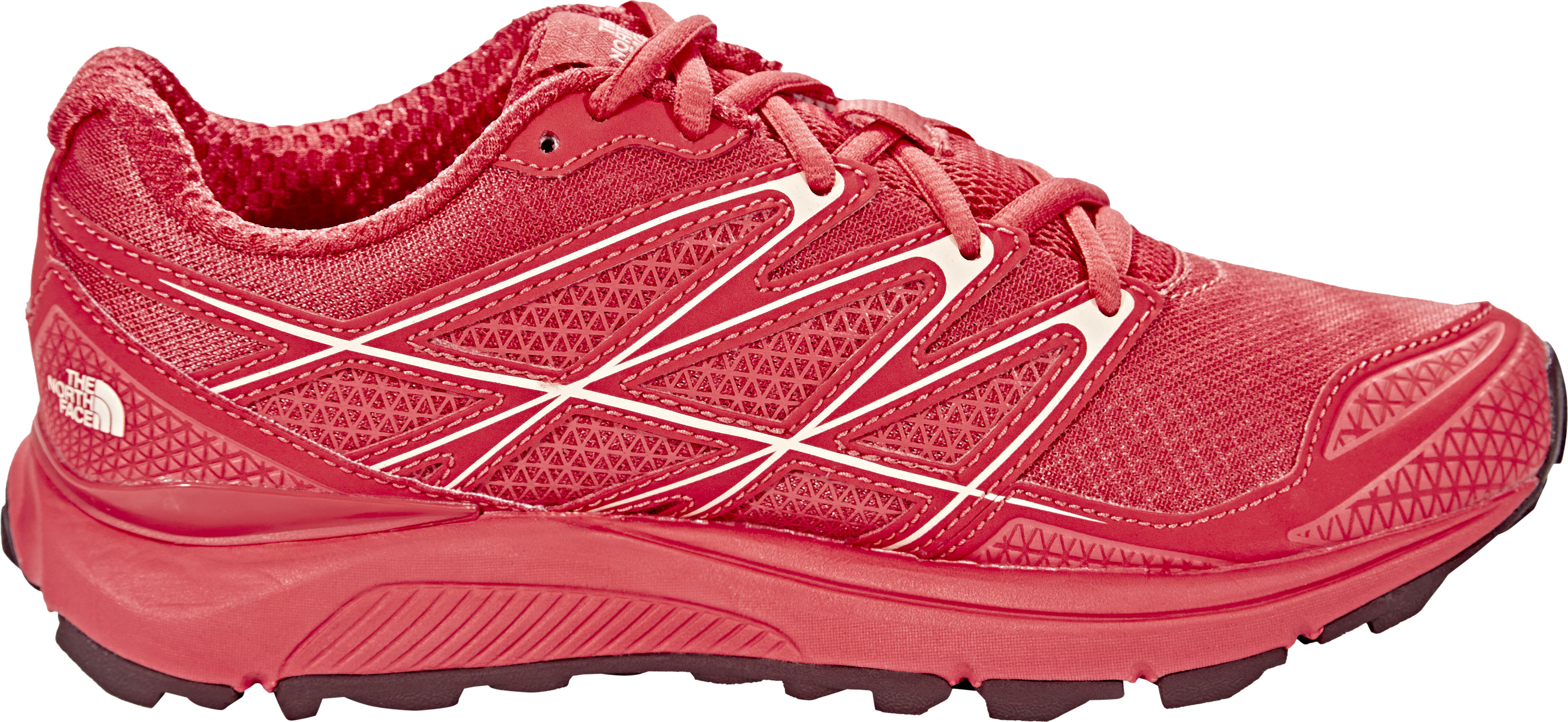07f52dcb3f0 The North Face Litewave Endurance Løbesko Damer, cayenne red/tropical peach